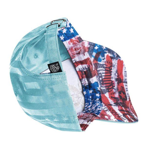 Lady Liberty Womans Hat bottom