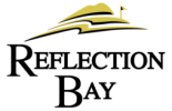 reflection bay golf club logo