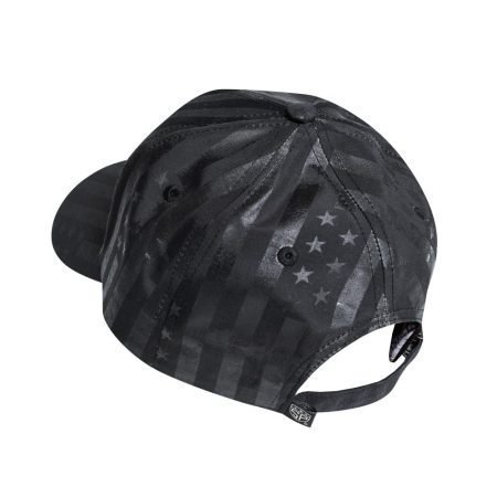 Subtle Patriot Buckle Hat Back