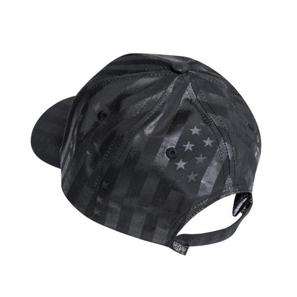 Subtle Patriot Buckle Hat Back