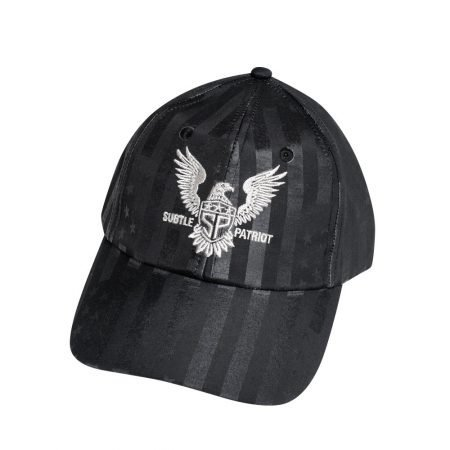 Subtle Patriot Buckle Hat Front