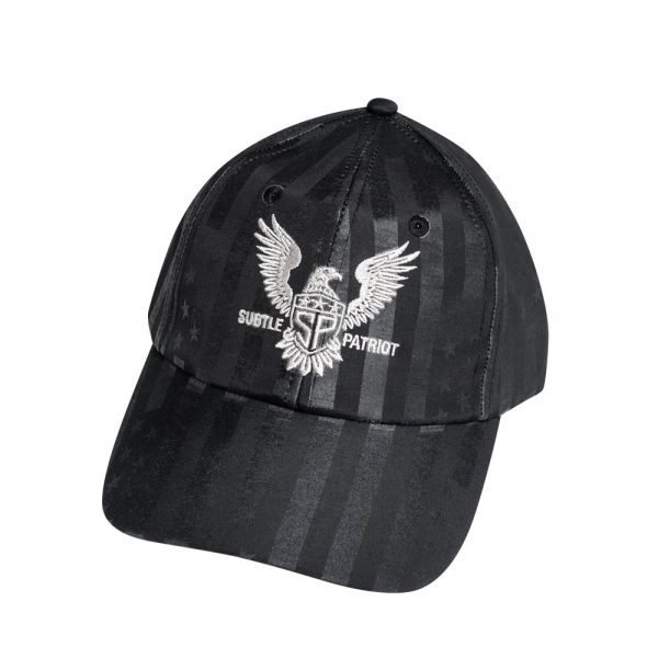 Subtle Patriot Buckle Hat Front