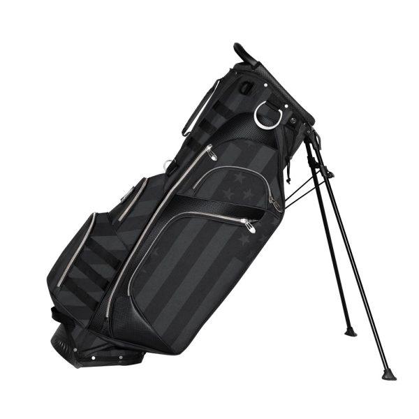 Patriotic Golf Bags Reclined