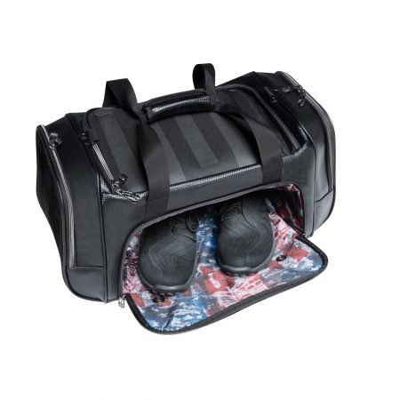 Subtle Patriot Duffel Shoe Separator Pocket