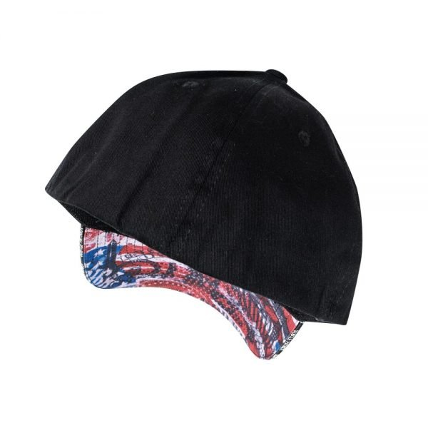 Subtle Patriot Fitted Hat Back