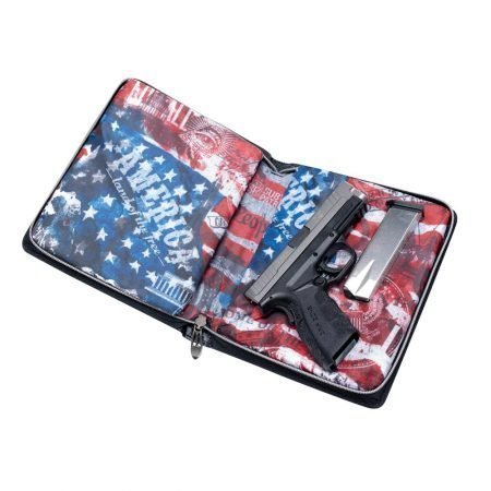 Subtle Patriot Pistol Planner Open with Pistol