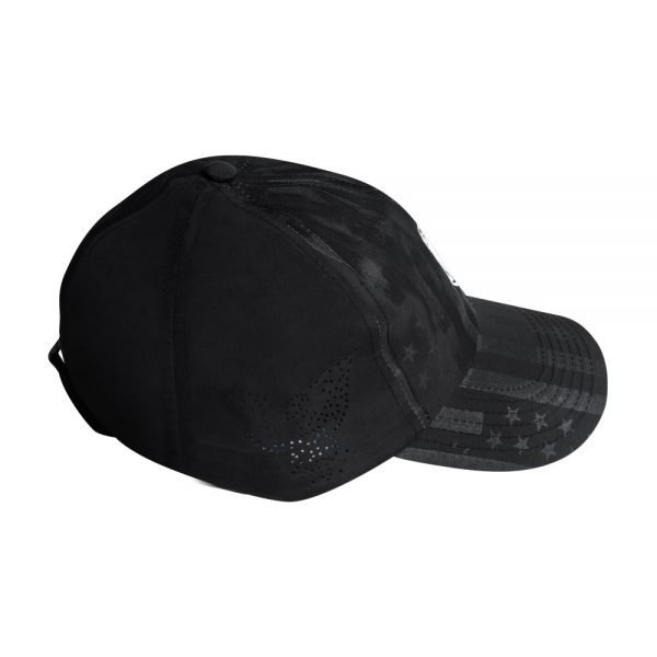 Subtle Patriot Running Hat Perforated Side