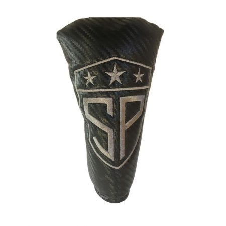 Subtle Patriot Putter Cover Carbon Fiber
